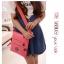 กระเป๋าสะพายข้าง Jin Qiaoer ช่องเยอะ ขนาดกระทัดรัด ทำจากไนล่อนคุณภาพดี กันน้ำ เหมาะกับทุกโอกาสค่ะ thumbnail 2