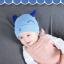 หมวกบีนนี่ หมวกเด็กสวมแบบแนบศีรษะ ลายหน้ายิ้ม (มี 5 สี) thumbnail 2