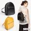 กระเป๋าสะพายเป้ ZARA Sturby Backpack With Zips 2017 สไตล์ PRADA สีดำ thumbnail 10
