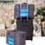 กระเป๋าเดินทางพับเก็บได้ เพื่อการเดินทาง ท่องเที่ยว ปรับสายสะพายได้ เสียบที่จับของกระเป๋าเดินทางได้ มีซิปรูดตอนพับเก็บ thumbnail 3
