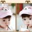 หมวกแก๊ป หมวกเด็กแบบมีปีกด้านหน้า ลายลิงน้อย (มี 3 สี) thumbnail 5