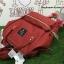 กระเป๋าเป้ ANELLO POLYESTER CANVAS RUCKSACK สี Dark Orange รุ่นคลาสสิค thumbnail 6