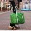 DINIWELL กระเป๋าเดินทางพับเก็บได้ อเนกประสงค์ เพื่อการเดินทาง ท่องเที่ยว ปรับสายสะพายได้ เสียบที่จับของกระเป๋าเดินทางได้ น้ำหนักเบา มีซิปรูดตอนพับเก็บ thumbnail 11