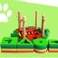 ของเล่นไม้ บล็อคไม้สวมหลัก เสริมพัฒนาการ รูปเต่าทอง thumbnail 5