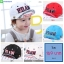 หมวกแก๊ป หมวกเด็กแบบมีปีกด้านหน้า ลาย P.DAW (มี 4 สี) thumbnail 1