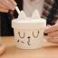 แก้วเซรามิคแมวน้อยขยิบตา <พร้อมส่ง> thumbnail 2