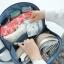 กระเป๋าใส่ชุดชั้นใน กางเกงชั้นใน ขนาดใหญ่พิเศษ แบ่งช่องสองด้าน ใส่ได้หลายตัว มี 4 สี 4 ลาย thumbnail 23