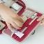 กระเป๋าใส่อุปกรณ์อาบน้ำ คุณภาพดี แขวนได้ สำหรับเดินทาง ท่องเที่ยว พกพาสะดวกมี 4 สี 4 ลายให้เลือก thumbnail 7