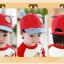 หมวกแก๊ป หมวกเด็กแบบมีปีกด้านหน้า ลายหมีน้อย (มี 4 สี) thumbnail 7