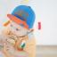 หมวกแก๊ป หมวกเด็กแบบมีปีกด้านหน้า ลาย HAPPY PRINCE (มี 2 สี) thumbnail 8