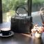 กระเป๋า Amory Leather Mini Durable Classic bag สีดำ thumbnail 3