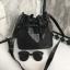 กระเป่า David Jones Bucket Leather Size L (bag) กระเป๋าสะพายข้างดีไซน์เกร๋มาก สีดำสวยมาก chic thumbnail 3
