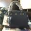 LYN Madison Bag สีดำ กระเป๋าถือหรือสะพายทรงสวย รุ่นใหม่ล่าสุด วัสดุหนัง Saffiano thumbnail 1