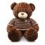 ตุ๊กตาหมีตัวใหญ่ ใส่เสื้อกันหนาว thumbnail 1