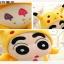 ตุ๊กตาชินจังสวมชุดปิกาจู Pikachu Pokemon thumbnail 9