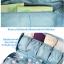 DINIWELL กระเป๋าใส่ชุดชั้นใน กางเกงใน รุ่นพิเศษ เหมาะทั้งหญิง และชาย ช่องเยอะ ผลิตจากโพลีเอสเตอร์คุณภาพสูง กันน้ำ thumbnail 7