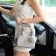 กระเป๋า KEEP saffiano leather Mini office bag สีเทา สวย น่ารัก ขนาดตอบทุกโจทย์การใช้งาน thumbnail 14