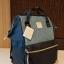 กระเป๋า Anello DENIM MULTI Rucksack (Classic / STD) กระเป๋าเป้แบรนด์ดังจากญี่ปุ่นสุดฮิตจนฉุดไม่อยู่ รุ่นนี้วัสดุ CANVAS DENIM Fabric เนื้อยีนส์หนานิ่มคุณภาพดีดีไซน์สวยเก๋ คงความโดดเด่นที่ดีไซน์ปากกระเป๋ามีโครงทำให้ตัวกระเป๋าเป็นทรงสวย เปิดได้กว thumbnail 3