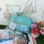 กระเป๋าเป้ Anello Canvas 2 Way Mini Boston Bag Mint เป้ผ้าใบ สะพายข้างลำตัว thumbnail 1