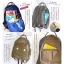 กระเป๋า Anello rucksack nylon day pack back 2017 สี Khakhi ราคา 1,290 บาท Free Ems thumbnail 7