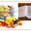 ของเล่นบล็อคตัวต่อเลโก้ชิ้นใหญ่สำหรับเด็กเล็กวัย 2-5 ปี แบบถังหิ้ว 180 ชิ้น thumbnail 9