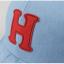 หมวกแก๊ป หมวกเด็กแบบมีปีกด้านหน้า ลายตัวอักษร H (มี 2 สี) thumbnail 12