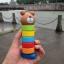 ตุ๊กตาค้อนตอกหมีไม้ ของเล่นทาวเวอร์สีรุ้ง thumbnail 8