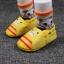 รองเท้าหัดเดินเด็กอ่อน ลายแมวสีเหลือง วัย 0-12 เดือน thumbnail 4