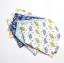 ผ้าซับน้ำลายสามเหลี่ยม ผ้ากันเปื้อนเด็ก แบบใช้ได้ 2 ด้าน / มี 4 ลาย thumbnail 11