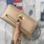 กระเป๋าสตางค์ KEEP Alice 2017 Collection Long Wallet With BrandBox Classy Glod thumbnail 5