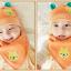 เซตหมวก+ผ้าซับน้ำลาย / ลายหมีน้อย (มี 5 สี) thumbnail 9
