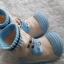 รองเท้าถุงเท้าพื้นยางหัดเดิน สีฟ้า ลายหมี Beary cute size 20-25 thumbnail 6