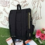 กระเป๋าเป้ Anello flap rucksack polyester canvas แบรนด์ดังรุ่นใหม่มาอีกแล้วว วัสดุผ้าแคนวาสเนื้อดี ยังคงเอกลักษณ์ความกว้างของปากกระเป๋าเพื่อการใช้งานที่ง่ายและสะดวก รุ่นนี้มีช่องเก็บสัมภาระมากมาย ทั้งภายในและภายนอก ด้านข้างใส่ขวดน้ำได้ ด้านหลังยังคงเป็นช่ thumbnail 25