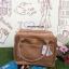 กระเป่า Anello PU Leather boston bag C.Beige Color ราคา 1,490 บาท Free Ems thumbnail 2