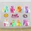 โมเดลม้าโพนี่ My Little Pony Set 8 ตัว thumbnail 3