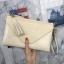 กระเป๋าสะพาย ปรับเป็นคลัชได้ สีครีม รุ่น KEEP Doratry shoulder &clutch bag thumbnail 5