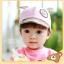 หมวกแก๊ป หมวกเด็กแบบมีปีกด้านหน้า ลายหมีน้อย (มี 4 สี) thumbnail 14