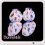 ถุงมือถุงเท้า cotton 100% (แพ็ค 12 เซ็ต) thumbnail 2