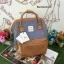 กระเป๋า Anello emporium dark brown( Limited edition หนัง+ผ้า) ขนาดมินิ กำลังดี thumbnail 1