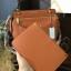 กระเป๋า CHARLES & KEITH LARGE TOP HANDLE BAG (Size L) สีส้ม ราคา 1,590 บาท Free Ems thumbnail 2