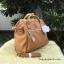 กระเป๋าเป้ ANELLO 2 WAY PU LEATHER BOSTON BAG (Regular)-----Camel Beige Color thumbnail 3