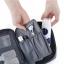 กระเป๋าอเนกประสงค์พกพาสะดวก สำหรับใส่อุปกรณ์เครื่องสำอาง อุปกรณ์ห้องน้ำ หรือสิ่งของจำเป็นอื่นเพื่อการเดินทาง ทำจากไนล่อนกันน้ำคุณภาพดี thumbnail 18