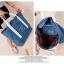 กระเป๋าสะพายผ้าแคสวาส เสียบกระเป๋าเดินทางได้ มีช่องใส่สองชั้นบน-ล่าง กระเป๋าเล็กแยก เหมาะมากสำหรับเดินทาง ท่องเที่ยว มี 9 สีให้เลือก thumbnail 12