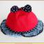 HT478••หมวกเด็ก•• / หมวกปีกกว้าง-โบว์คู่ (สีส้ม) thumbnail 8