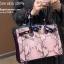กระเป๋าถือสะพายหนังแท้ สองขนาด ลายงานหนังวัวแท้ สีทูโทน (Leather100%) thumbnail 13