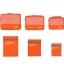 ชุดจัดกระเป๋าเดินทาง 6 ใบ ผลิตจากโพลีเอสเตอร์กันน้ำคุณภาพดี สำหรับจัดระเบียบเสื้อผ้า กางเกง ชุดชั้นใน กางเกงใน อุปกรณ์ไอที มี 6 สี thumbnail 10