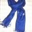 ผ้าพันคอย้อมครามทอมือ Premium Gift *สินค้า Handmade 100% ราคา 490 บาท(Ems +70) Bagshopweb.com thumbnail 9