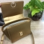 CHARLES & KEITH MINI PUSH-LOCK TRAPEZE BAG 2017 สีทอง thumbnail 7