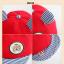 หมวกแก๊ป หมวกเด็กแบบมีปีกด้านหน้า ลายหมีน้อย (มี 4 สี) thumbnail 24