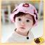 หมวกเด็กปีกกว้าง หมวกซันเดย์ ประดับปอยผม ลายกระต่ายน้อย (มี 3 สี) thumbnail 12